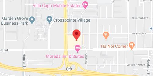Orange County, CA Store (Closed)