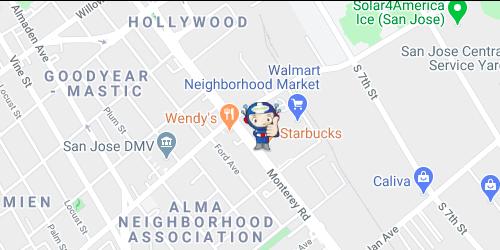 San Jose, CA Store (Closed)
